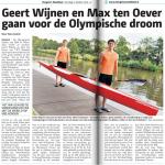 Krantenartikel Hengelo's Weekblad